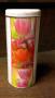 "Boîte à café ronde ""pink tulips"""