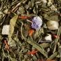 Thé parfumé Cassis et Violette