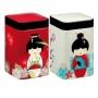 """Boîtes à thé  """"Little Geisha"""" de 100g chacune"""