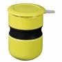 Tisanière asian curve vert citron 35cl + couvercle et filtre