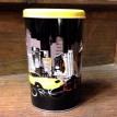 Boîte à café ronde